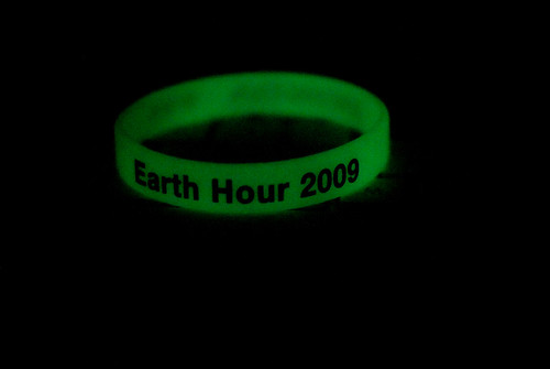 Earth hour bracelet