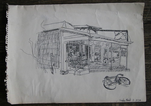 Don's drawing of Earthworks (1974)