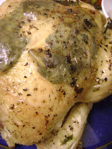 Hedge Garlic Roasted Chicken