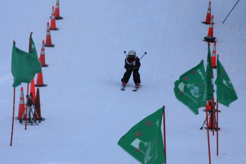 Ski Race At Chester Bowl