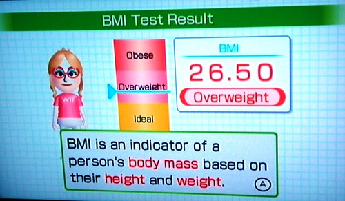 BMI Test Result