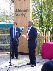 Kenyan High Commissioner Opens African Valley