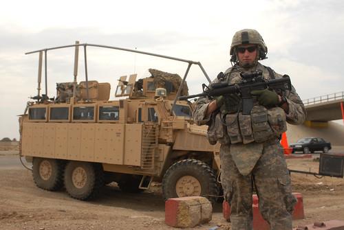 Ambush-protected vehicle