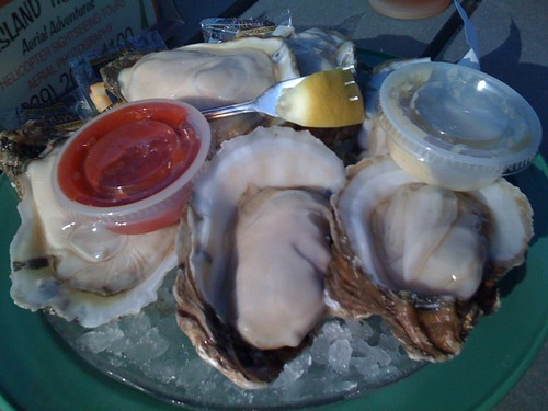 oysters from Snook Inn