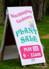 Plant Sale in Worthington, MA (May 16th)