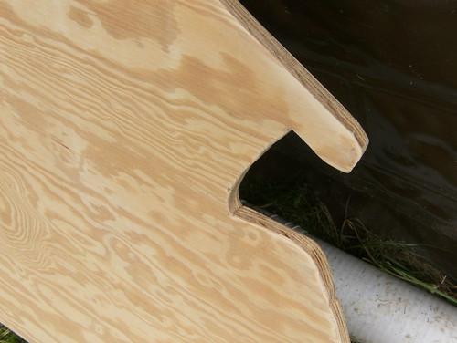 First Sanding - Edges