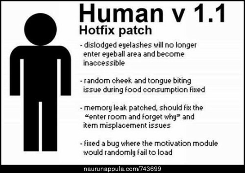 Human Hotfix Patch by caseorganic, on Flickr