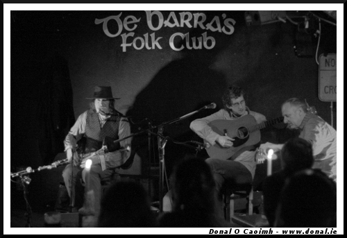 Paddy Keenan and Tommy O'Sullivan at de Barra's