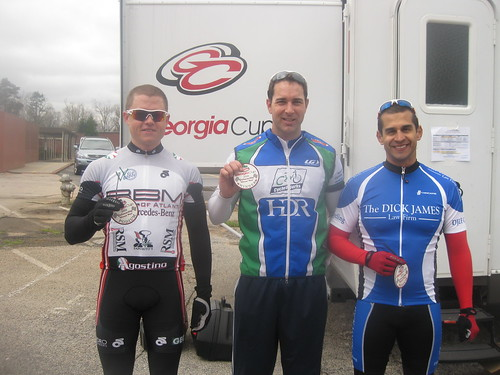 Category 4 Podium - Gainesville Road Race
