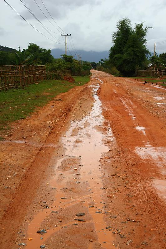 On the way to Plain of Jars, Phonsavan