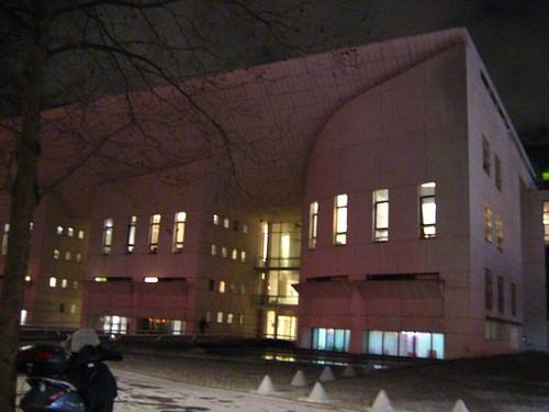 ตึกนี้ ที่โนดาเมะกระหืดกระหอบมาเรียน