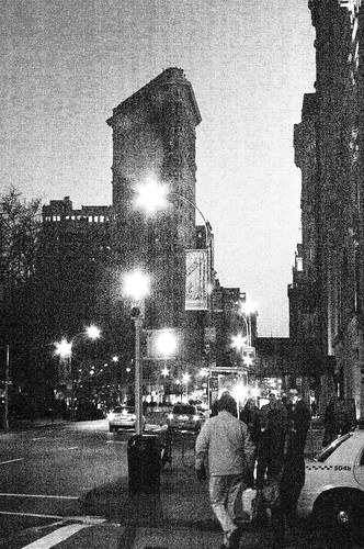 Flat Iron at Night B&W.jpg