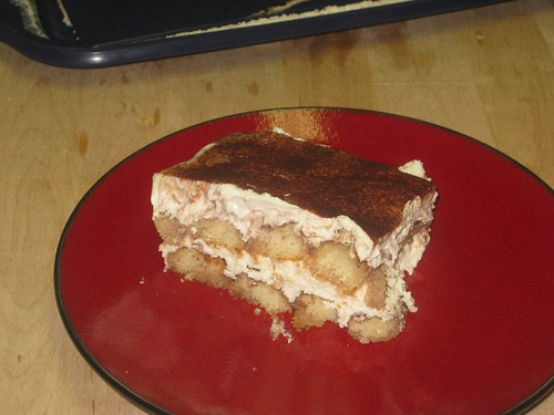 Cream cheese tiramisu