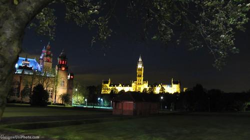 University from Sauchiehall Street