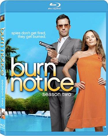 Burn Notice Season Two on Blu-Ray