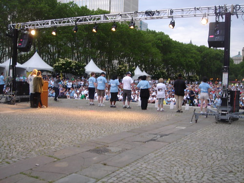 Opening Ceremony at The Overnight Walk, NYC, 6/4-5/11