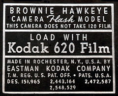 Kodak Film Label