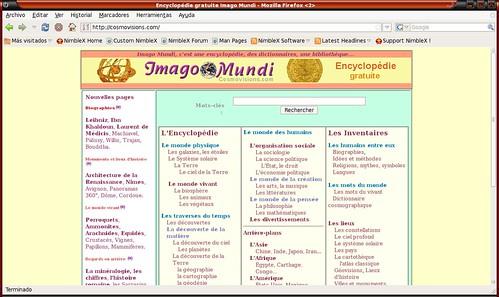 saber enciclopédico y en francés