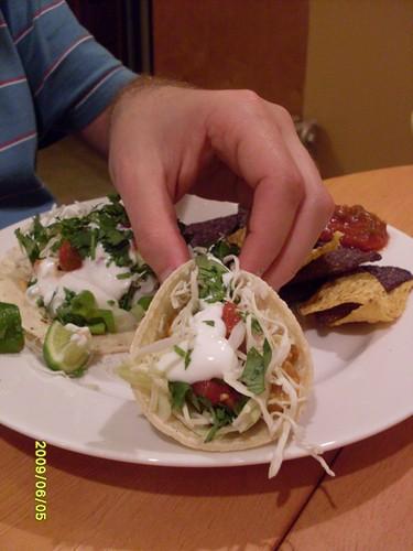 Assembled Fish Tacos