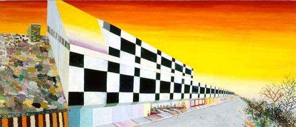 Organized Living, 2005, acrylic on canvas