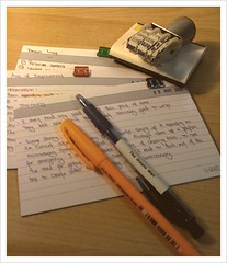My Pile of Index Card