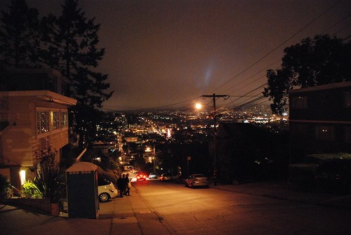 View from Noe Valley district