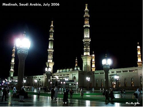 mesjidil haram, mekkah 2006 (unforgetable momment..^^)