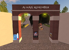 Remembering our Friends Memorial: the Gate