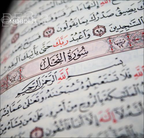 من سور القرآنــــ الــكـريمـ