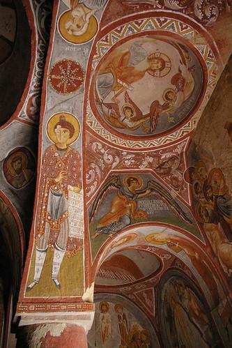 Cappodocia - Museum - Church Fresco 2 by you.