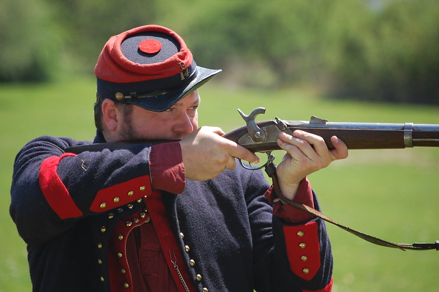 Civil War Soldiers at OBVR Civil War Event