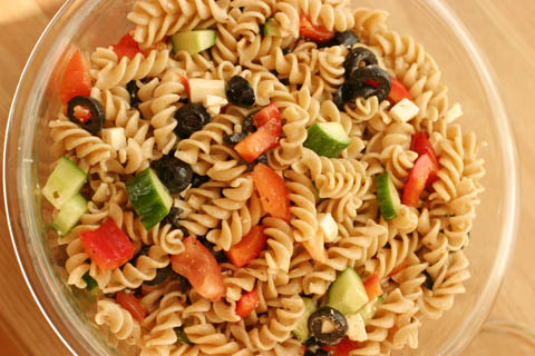 Greek Salad (pasta)