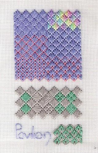 Exploring Pavilion stitch