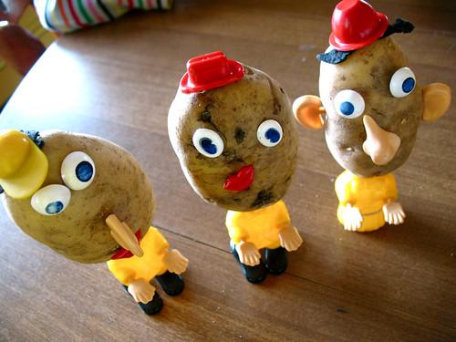 vintage potato heads