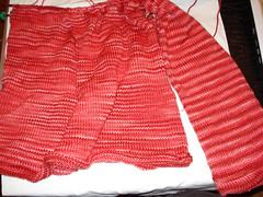 Hourglass Sweater - 1 sleeve