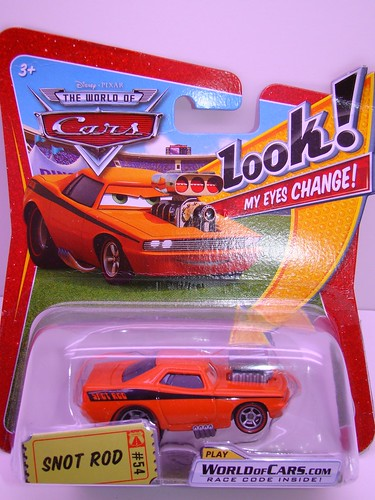 CARS Lenticular Snot Rod