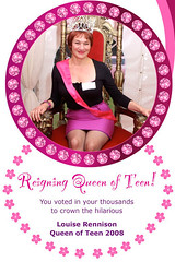 Louise Rennison, Queen of Teen 2008
