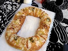 roscón de reyes (king cake)