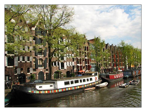 Canal houses, windows and boathouses  by you.