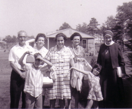 Sr. Marie Concetta Papania with her family