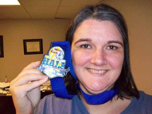 Me and my medal.