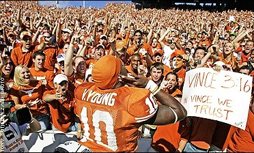 The 2005 Red River Shootout!  (this picture made the cover of ESPN.com.  whos holding that awesome sign?)