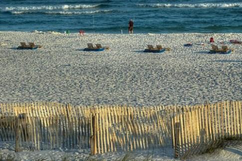 Beach at Gulf Shores (HDR)