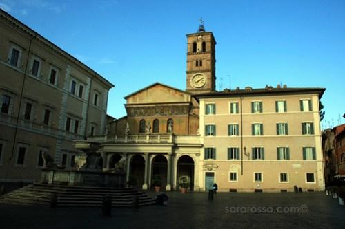 Santa Maria in Trastevere Basilica, Rome