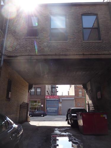 alley at paulina and randolph