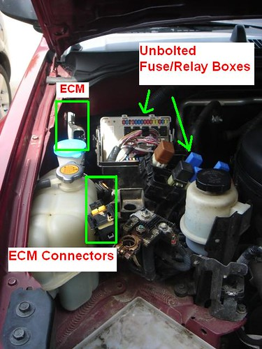Nissan Xterra Engine Diagram Is There An Ecm Relay On A 2001 Nissan