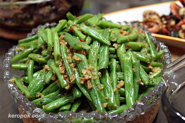 Spicy Hae Bee French Beans