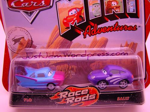 CARS Mini Adventures Flo n Sally