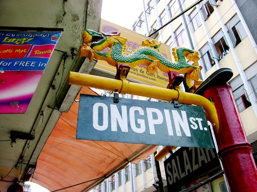 Calle Ongpin - the busiest street of Chinatown