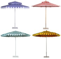 Colorful and Frilly Outdoor Umbrellas : Katy Elliott